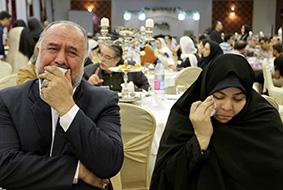 مادر و پدر علی وزینی